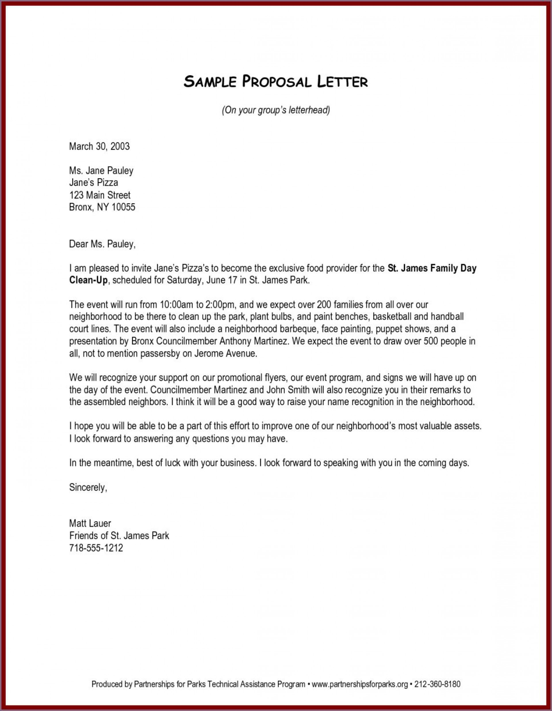 003 Awesome Busines Proposal Letter Template Example  Free Download1920