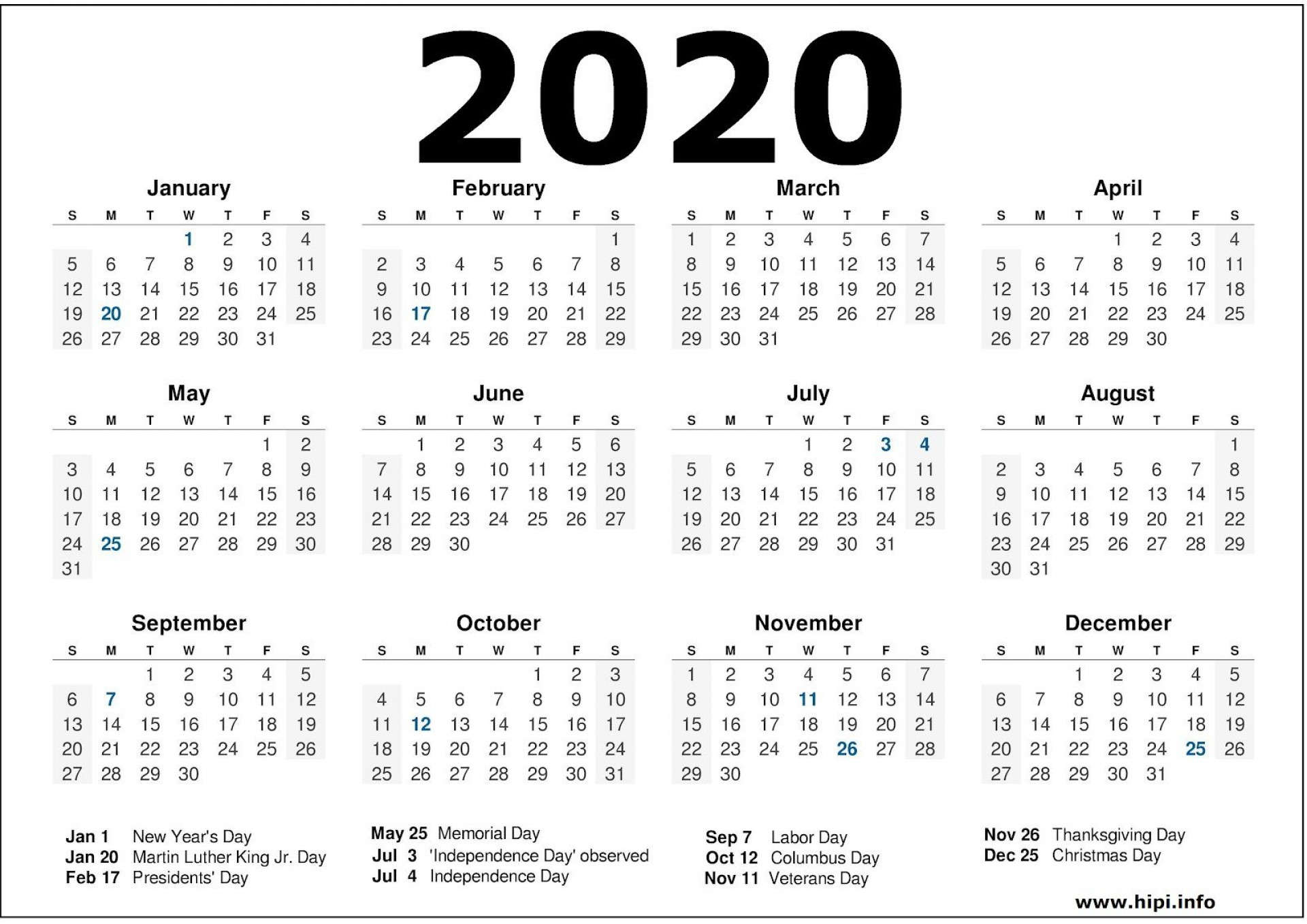 003 Awesome Calendar Template Free Download Image  2020 Powerpoint Table Design 2019 Malaysia1920