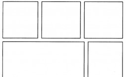 003 Awesome Comic Strip Template Word Sample  Doc For Microsoft Document