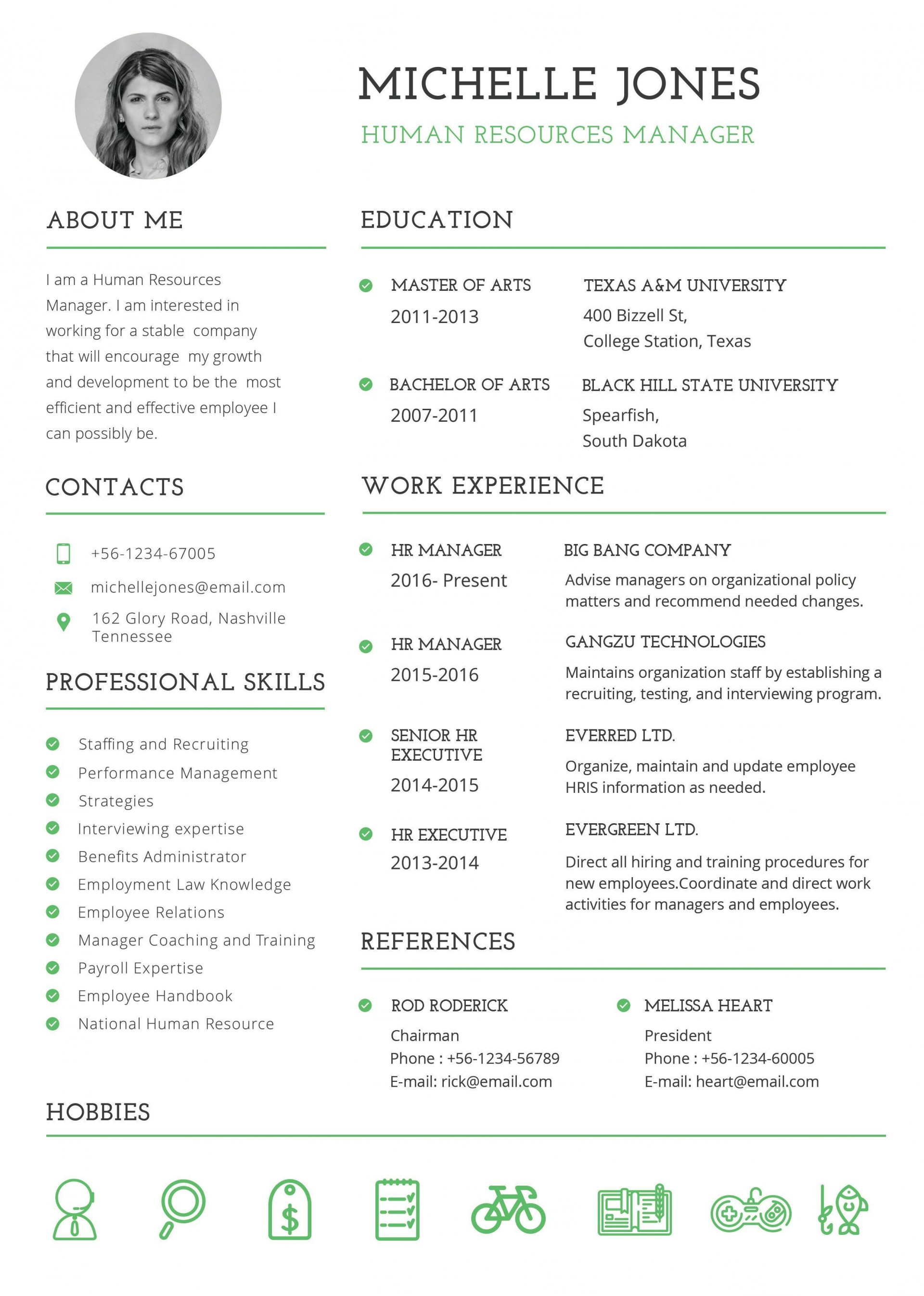 003 Awesome Free Student Resume Template Download Design  Word1920