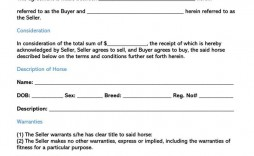 003 Awesome Horse Bill Of Sale Template High Definition  Australia Agreement