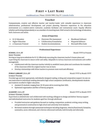 003 Awesome Resume Template For Teaching Sample  Example Assistant Cv Uk Job320