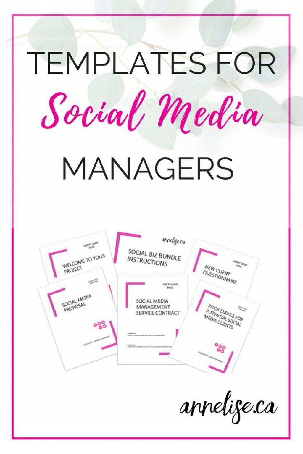 003 Awesome Social Media Proposal Template High Resolution  Plan Sample Pdf 2018Large