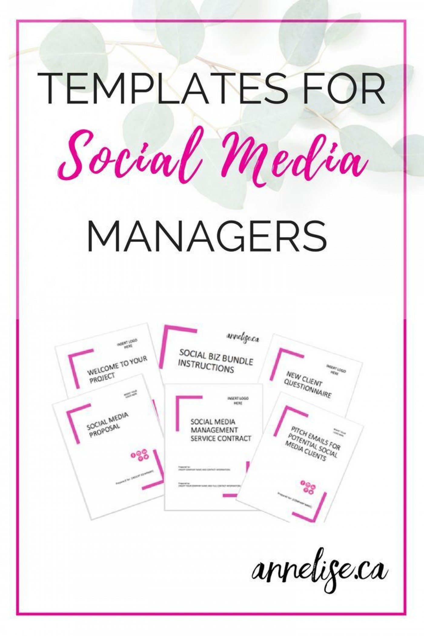 003 Awesome Social Media Proposal Template High Resolution  Plan Sample Pdf 20181400