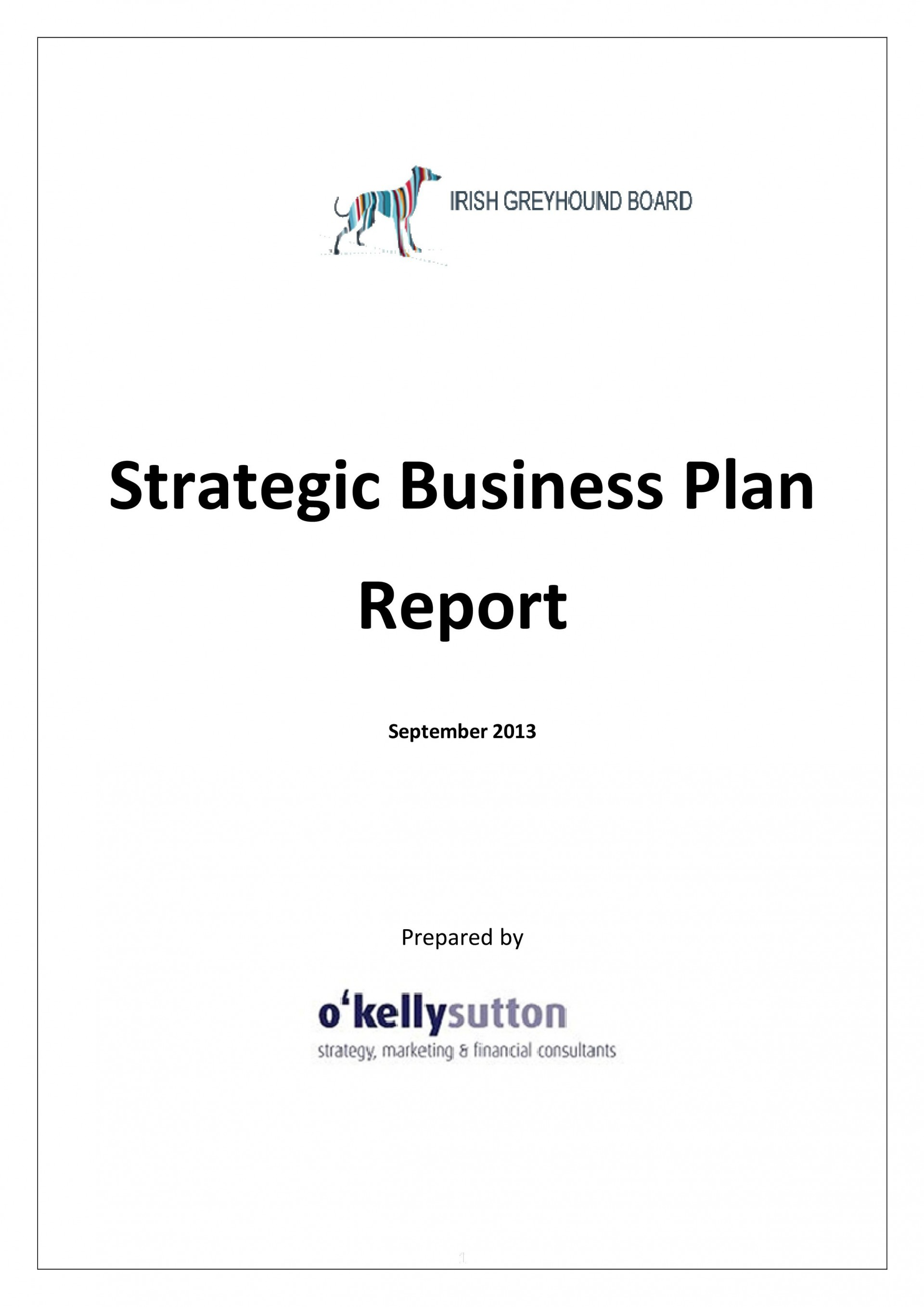 003 Awesome Strategic Busines Plan Template Highest Quality  Doc Word Sample1920