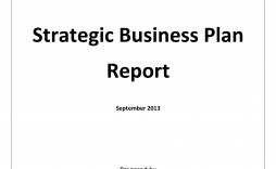 003 Awesome Strategic Busines Plan Template Highest Quality  Doc Word Sample
