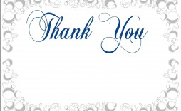 003 Awesome Thank You Card Template Sample  Christma Word Wedding Reception Teacher Busines