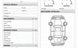 003 Awesome Vehicle Inspection Form Template Sample  Printable Pdf Word