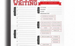 003 Awesome Writing A Novel Outline Template Highest Clarity  Sample