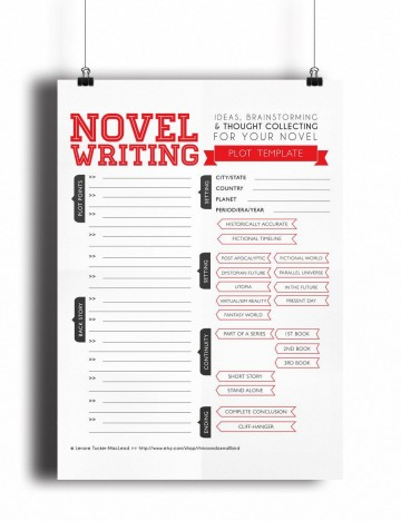 003 Awesome Writing A Novel Outline Template Highest Clarity  Sample360