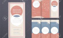 003 Awful 3 Fold Brochure Template Free Picture  Word Download