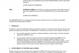 003 Awful Busines Partnership Contract Template Picture  Agreement Free Nz Word