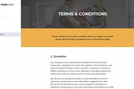 003 Awful Construction Job Proposal Template Highest Quality  Example