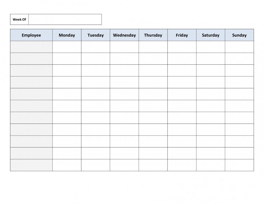 003 Awful Employee Schedule Template Free Inspiration  Shift Excel Download Monthly Work
