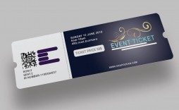 003 Awful Event Ticket Template Photoshop Highest Quality  Design Psd Free Download