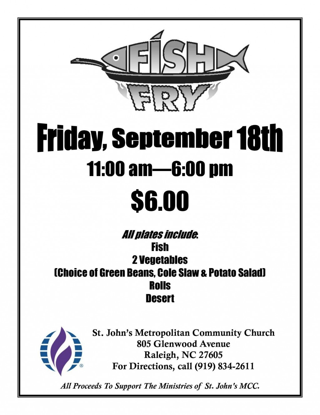 003 Awful Fish Fry Flyer Template Concept  Printable Free Powerpoint PsdLarge