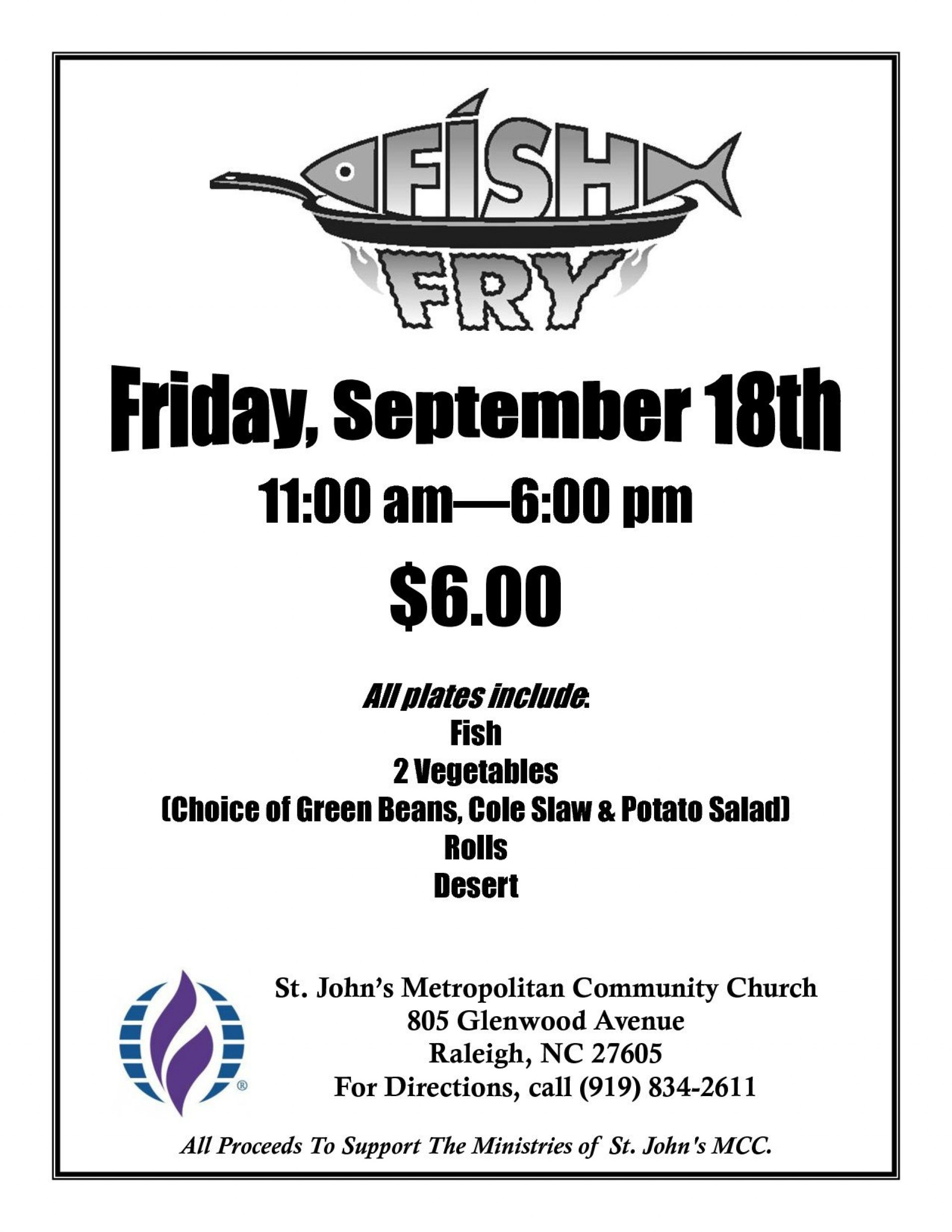 003 Awful Fish Fry Flyer Template Concept  Printable Free Powerpoint Psd1920