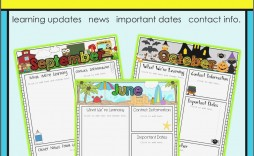003 Awful Free Editable Daycare Newsletter Template For Word Idea  Classroom