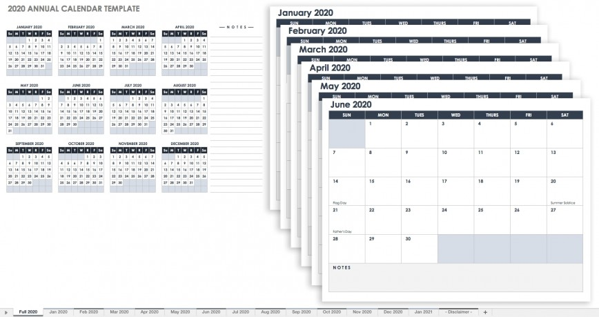 003 Awful Free Excel Calendar Template Idea  Download Format 2020 Annual