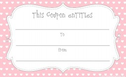 003 Awful Free Printable Birthday Gift Voucher Template Design
