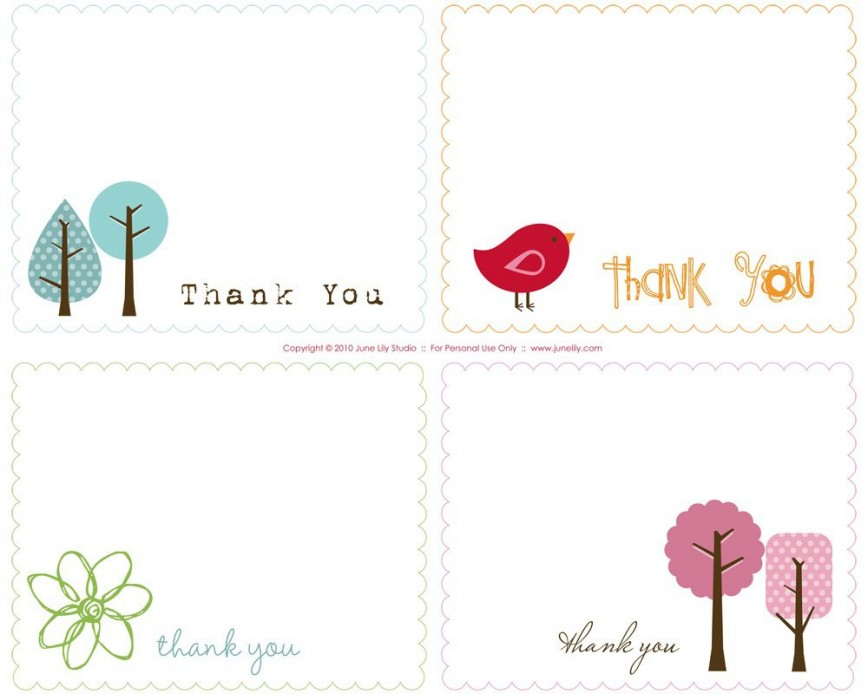 003 Awful Free Thank You Card Template High Definition  Download Word Printable For
