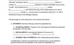 003 Awful Loan Promissory Note Template Example  Ppp Form Personal Format Student