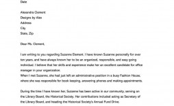 003 Awful Personal Letter Of Recommendation Template Picture  Templates Character Reference Word