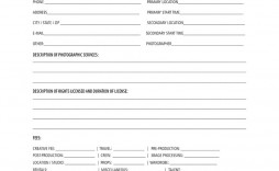 003 Awful Photography Contract Template Pdf Concept  Free Portrait