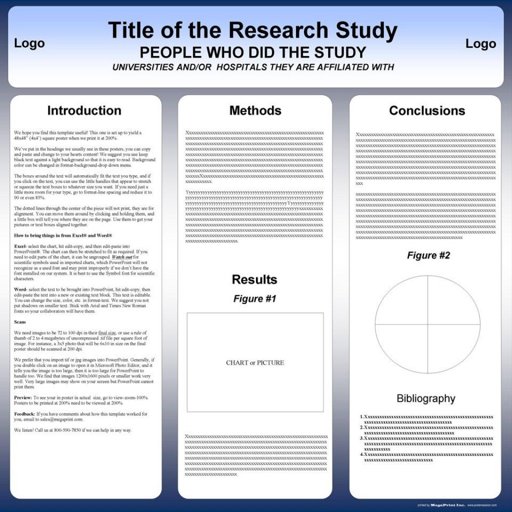 003 Awful Scientific Poster Presentation Template Free Download Example Large