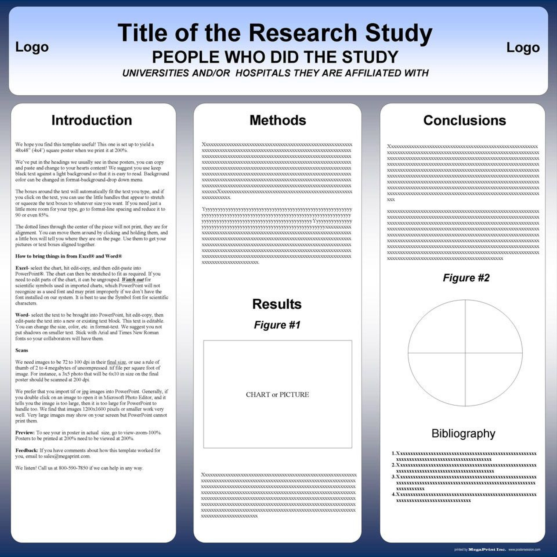 003 Awful Scientific Poster Presentation Template Free Download Example 1920