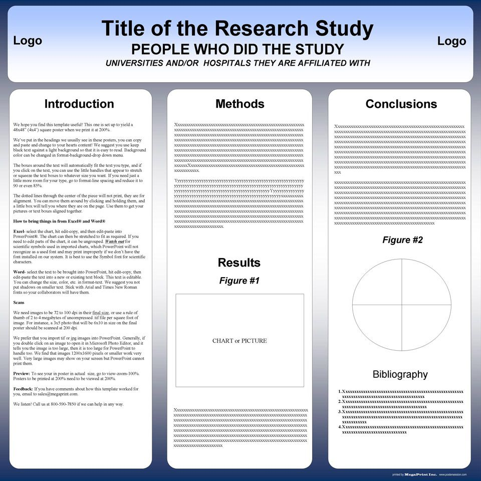 003 Awful Scientific Poster Presentation Template Free Download Example Full