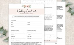 003 Awful Wedding Photography Contract Template Pdf Idea