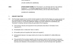 003 Beautiful Busines Sale Agreement Template Inspiration  Free Download Uk Contract Word