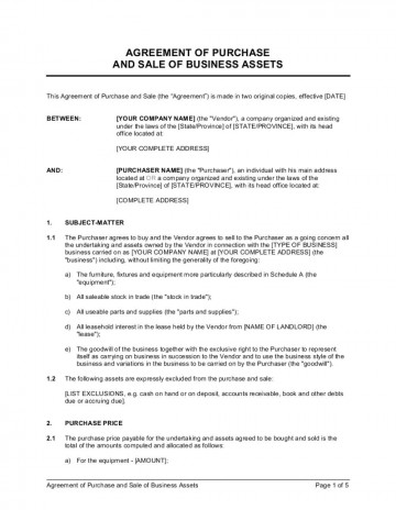 003 Beautiful Busines Sale Agreement Template Inspiration  Western Australia Free Uk Download South Africa360