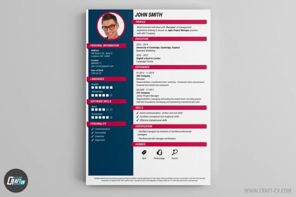 003 Beautiful Create A Resume Template Free Sample  Your Own WritingLarge