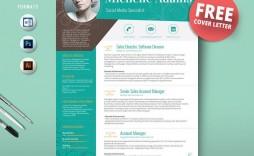 003 Beautiful Creative Resume Template M Word Free Photo