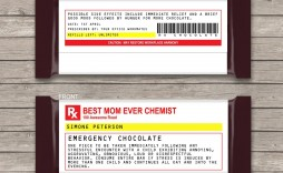 003 Beautiful Fake Prescription Label Template Example  Free Bottle