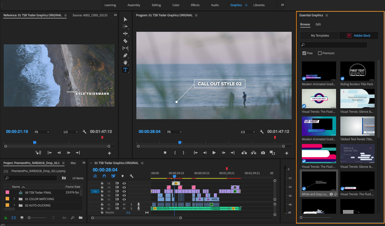 003 Beautiful Free Adobe Premiere Template Concept  Templates Pro Intro Rush Wedding VideoFull