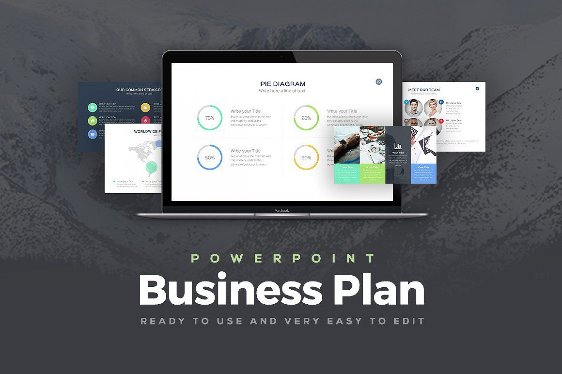 003 Beautiful Free Download Ppt Template For Busines Idea  Presentation Plan1920