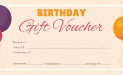 003 Beautiful Free Printable Template For Gift Certificate Highest Clarity  Certificates Voucher Birthday