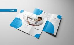 003 Beautiful Free Tri Fold Brochure Template Photo  Photoshop Illustrator Microsoft Word 2010