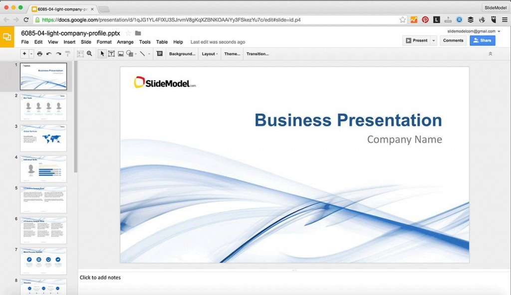003 Beautiful Google Doc Powerpoint Template Inspiration  Templates PresentationLarge