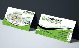 003 Beautiful Herbalife Busines Card Template Example  Download Free