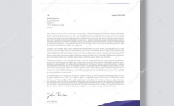 003 Beautiful Letterhead Sample Free Download  Construction Company Template