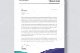 003 Beautiful Letterhead Sample Free Download  Template Ai Microsoft Word Restaurant