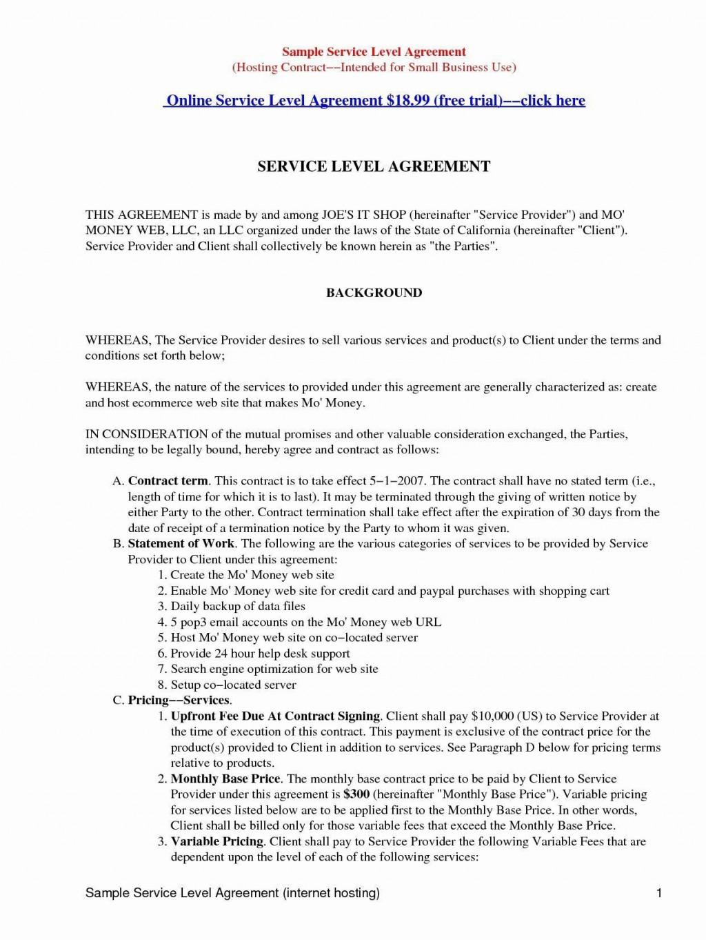 003 Beautiful Master Service Agreement Template High Resolution  Marketing For Software DevelopmentLarge