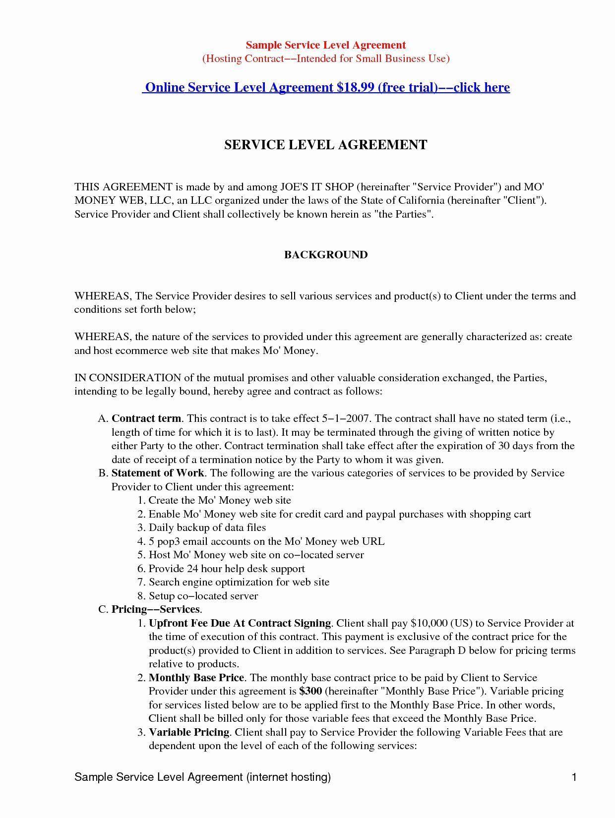 003 Beautiful Master Service Agreement Template High Resolution  Marketing For Software DevelopmentFull