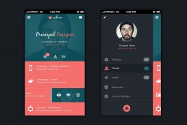 003 Beautiful Mobile App Design Template Highest Clarity  Size Adobe Xd Ui Psd Free Download