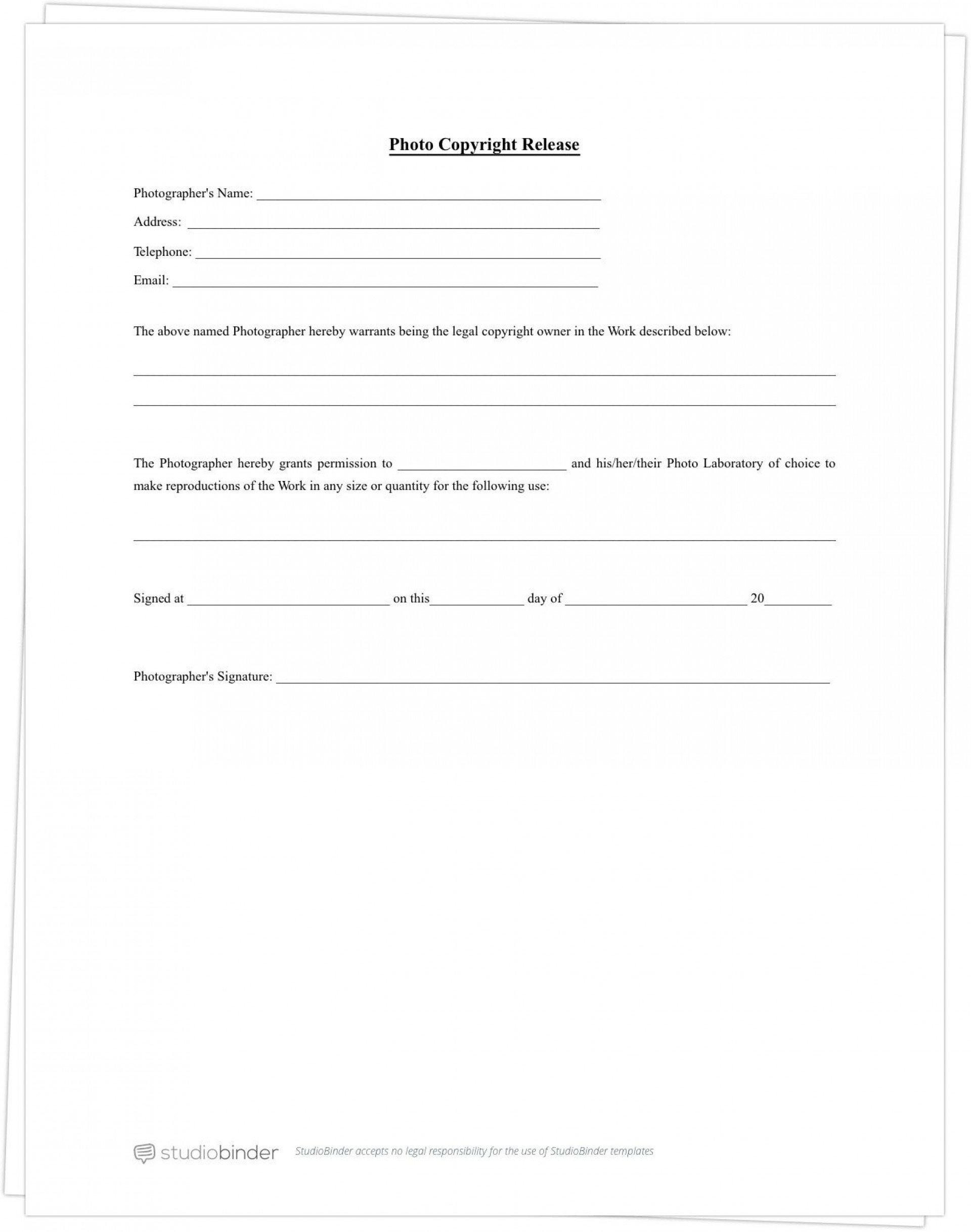 003 Beautiful Photo Release Form Template Concept  Video Consent Australia Free And1920