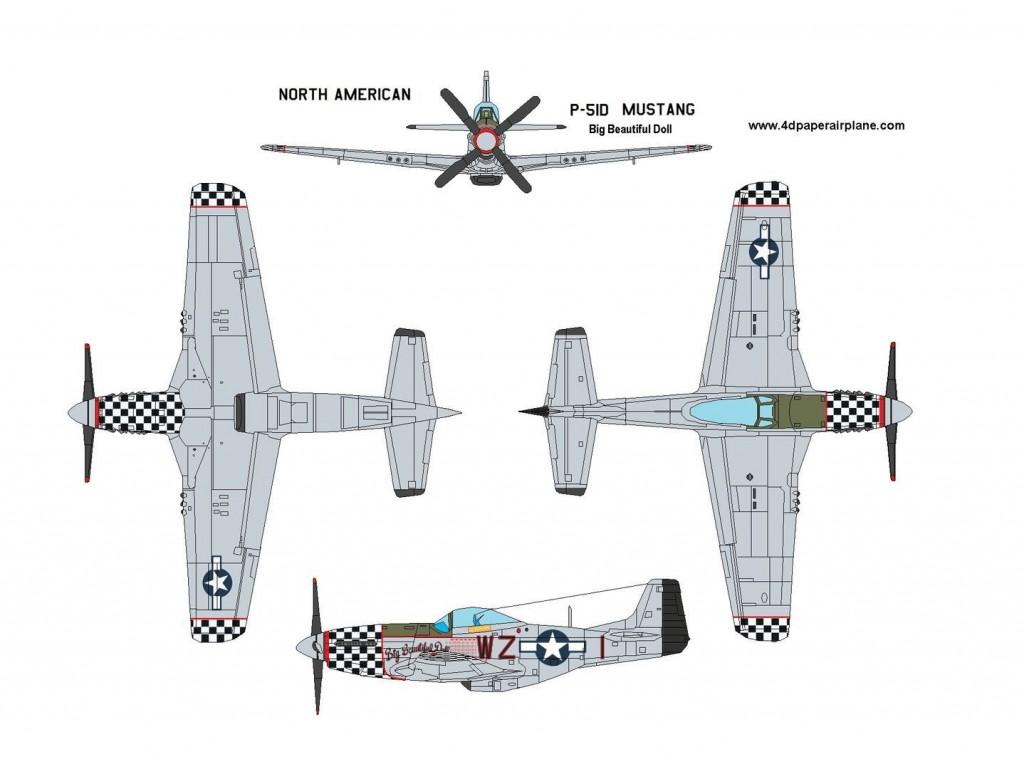 003 Beautiful Printable Paper Plane Plan Photo  Plans Airplane Free Design InstructionLarge